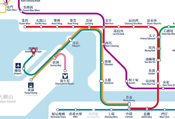 HongKongSubwayMap